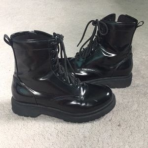 Mossimo Supply Co Lace Up Combat Boots